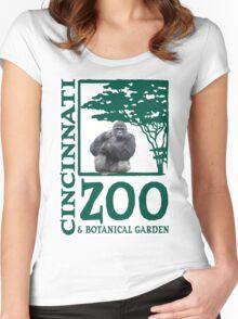 Cincinnati Zoo Women's Fitted Scoop T-Shirt