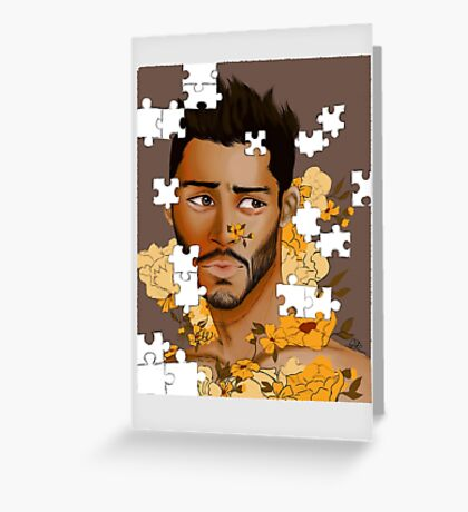 Puzzle piece  Greeting Card