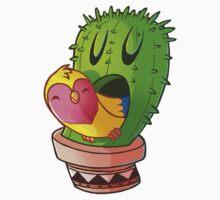Cactus bird Kids Tee
