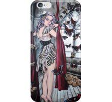 Bound, steampunk lowbrow art iPhone Case/Skin