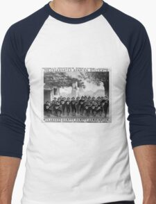 Performing Arts Posters The celebrated Spanish Students with Abbeys Humpty Dumpty Combination 2722 Men's Baseball ¾ T-Shirt