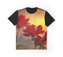 Sunrise On Roses Graphic T-Shirt