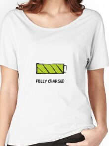 Battery Fully charged Women's Relaxed Fit T-Shirt