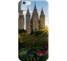 Starburst SLC LDS Temple iPhone Case/Skin
