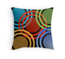 Wheelies Throw Pillow
