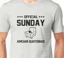 Official Sunday Armchair Quarterback Unisex T-Shirt