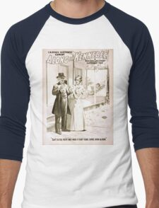 Performing Arts Posters CR Renos successful comedy Along the Kennebec a New England story laughingly told 1227 Men's Baseball ¾ T-Shirt