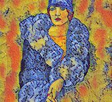 Aunt Bette Mosaic by redqueenself