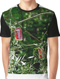 """Hybrid"" - Coca-Cola - willow ... Graphic T-Shirt"