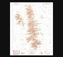 USGS TOPO Map Arizona AZ Granite Mountains North 311540 1990 24000 Unisex T-Shirt