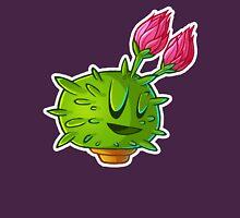Flowering cactus 2 outline Unisex T-Shirt