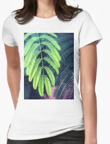 Green garden 3 Womens Fitted T-Shirt