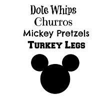 Food of Disney Photographic Print