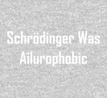 Schrodinger Was Ailurophobic One Piece - Short Sleeve