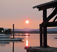 Cowichan Bay in July by VibeForVibrant