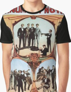 Performing Arts Posters Barnum the hypnotist 1589 Graphic T-Shirt