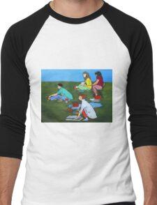 Plein Air Exercises Men's Baseball ¾ T-Shirt