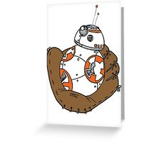 BB-8 Baseball Greeting Card