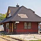 The Elko Station by Bryan D. Spellman
