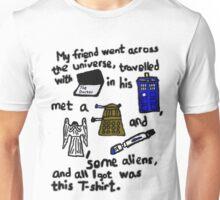 Tourist Doctor Who Tee Unisex T-Shirt