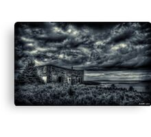 Abandoned in Goldboro Nova Scotia Canvas Print