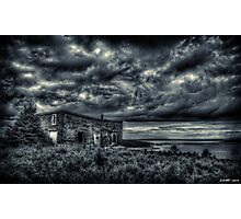 Abandoned in Goldboro Nova Scotia Photographic Print