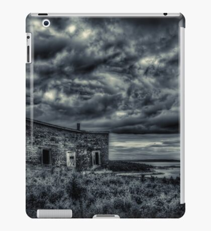 Abandoned in Goldboro Nova Scotia iPad Case/Skin