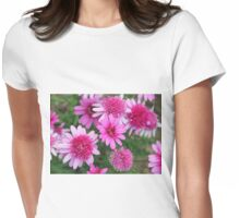 A profusion of pink Womens Fitted T-Shirt
