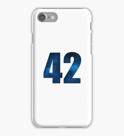 The answer. iPhone Case/Skin