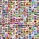 International and minority communities flags by E ROS