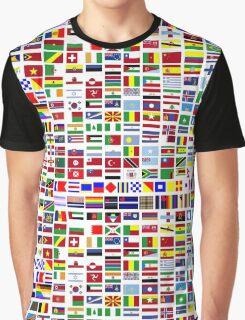 International and minority communities flags Graphic T-Shirt