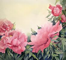 Tree Peonies by Ruthsteinfatt