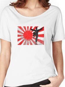 Karate Kid Distressed Women's Relaxed Fit T-Shirt