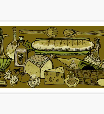 In The Mid-Century Kitchen Sticker