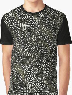 Stripey Graphic T-Shirt