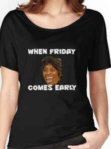 THANK GOD ITS FRIDAY Women's Relaxed Fit T-Shirt