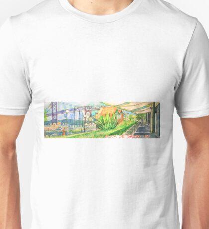 Doca de Santo. Lisbon. Unisex T-Shirt
