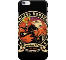 Headless Horseman Logo iPhone Case/Skin