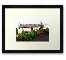 Abandoned Cottage, Inishowen Peninsular, Donegal, Ireland Framed Print