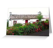 Abandoned Cottage, Inishowen Peninsular, Donegal, Ireland Greeting Card