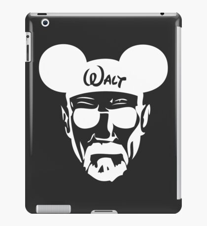 Walter WHITE Silouhette iPad Case/Skin