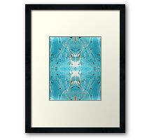 Marbled Reflections Framed Print
