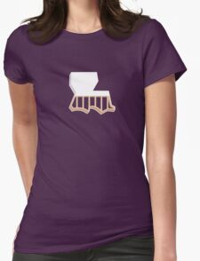 Louisiana Strong Womens Fitted T-Shirt