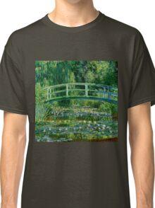 Water lilies, Claude Monet,beautiful vintage impressionist art Classic T-Shirt