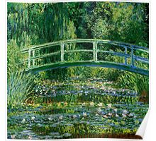 Water lilies, Claude Monet,beautiful vintage impressionist art Poster