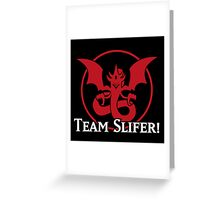 Team Slifer - Yu-Gi-Oh! Greeting Card