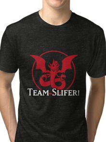 Team Slifer - Yu-Gi-Oh! Tri-blend T-Shirt