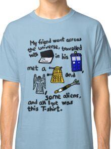 Tourist Doctor Who Tee 2 Classic T-Shirt