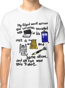 Tourist Doctor Who Tee 2 Classic T-Shirt