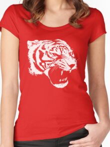 Growling Tiger Women's Fitted Scoop T-Shirt